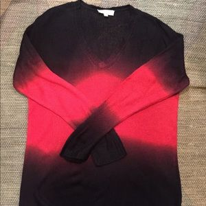 Vince Camuto Black & Red Hombre Sweater